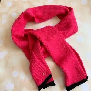 Kate spade NWOT pink knit scarf